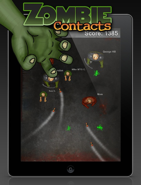 Zombie Contacts - iPad version