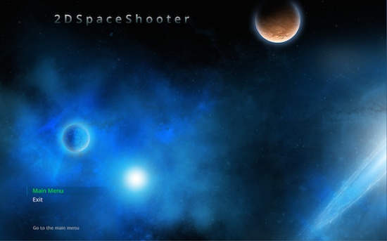 Unity 2D space shooter - a real GUI and menu system - update 8