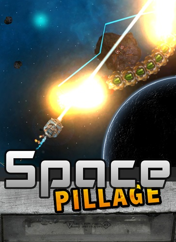 Space Pillage box shot